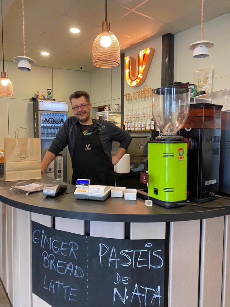 Cafenea Victoriei sector 1 - U Cafe, Joe barista